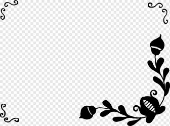 Flower Drawing simple border love white leaf png PNGWing