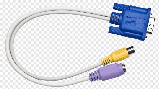 vga connector composite video rca connector wiring diagram