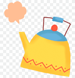 Kettle kettle hot water cartoon png PNGWing