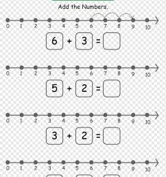 Number line Addition Subtraction Worksheet [ 1301 x 920 Pixel ]