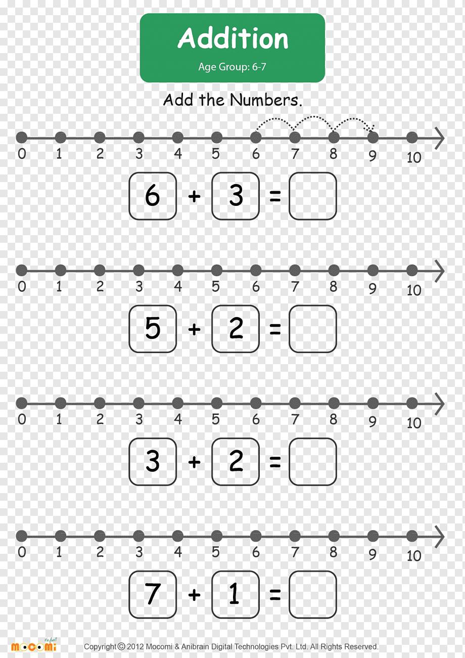 hight resolution of Number line Addition Subtraction Worksheet