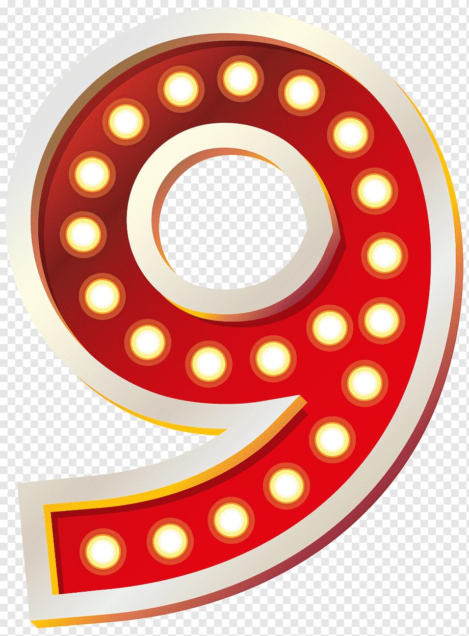 Angka 9 Png : angka, Number, Images, PNGWing