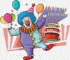 Kue Ulang Tahun Kartu Ucapan Selamat Ulang Tahun Badut Makanan