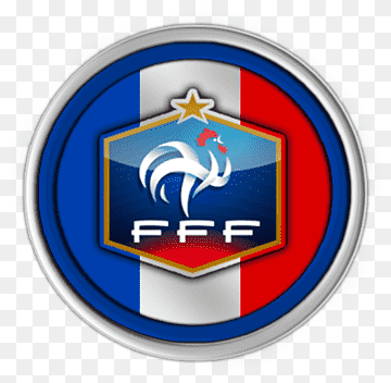 The world cup has been played every four years to determine the top soccer team on the globe, except in the years 1942 a. France National Football Team 2018 World Cup French Football Federation Seleccion Emblem Logo France Png Pngwing