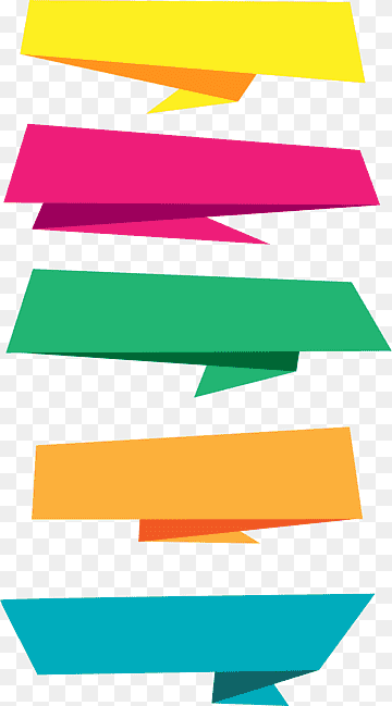 Shape Pita Png : shape, Paper, Banner,, Drawn, Origami, Labels,, Assorted-color, Papers, Illustration,, Angle,, Label,, PNGWing