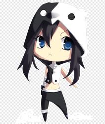 Chibi Anime Drawing Catgirl anime boy black Hair chibi fictional Character png PNGWing