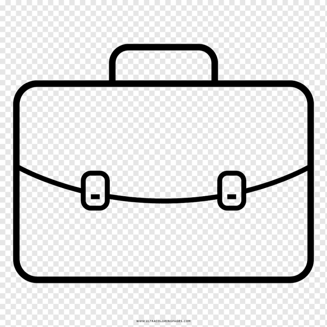 Suitcase Coloring Page png images  PNGWing