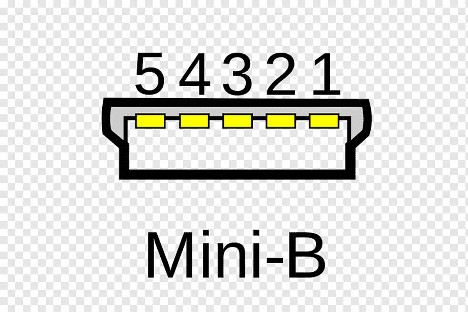 Micro-USB Pinout Mini-USB Wiring diagram, mini, angle