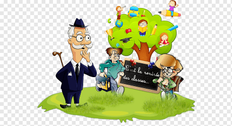 Classroom School Education Student Mural school child class cartoon png PNGWing