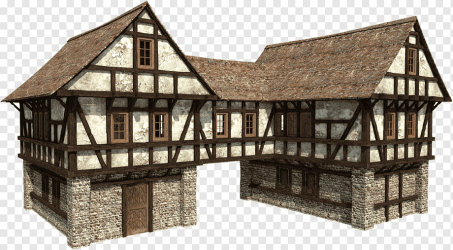 Minecraft Middle Ages Manor house Building Houses angle building medieval Architecture png PNGWing