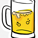 Clear Glass Beer Mug Art Beer Glassware Drawing Cartoon Beer Glass Cartoon Character Glass Wine Glass Png Pngwing