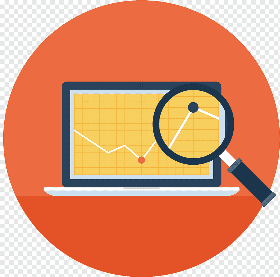 Business Icon Creative Computer Search Text Service Orange Png Pngwing