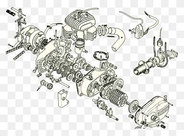 Motor diesel Pino do pistão do pistão Peças componentes de