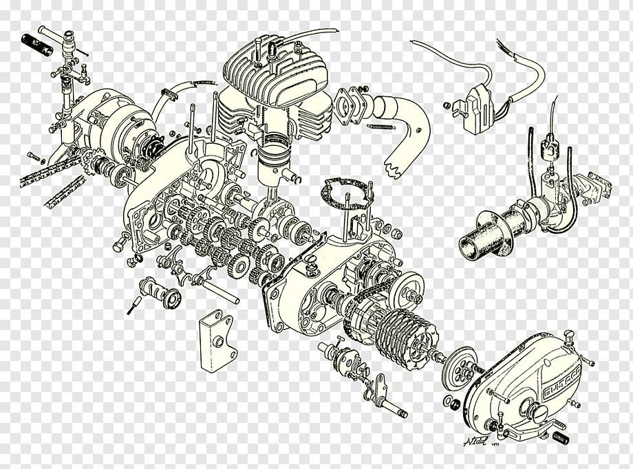 V Twin Motorcycle Engine Diagram : 40 Engine Diagram Ideas