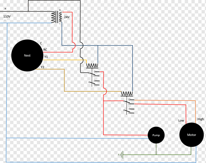 evaporative cooler wiring diagram electrical wires  cable
