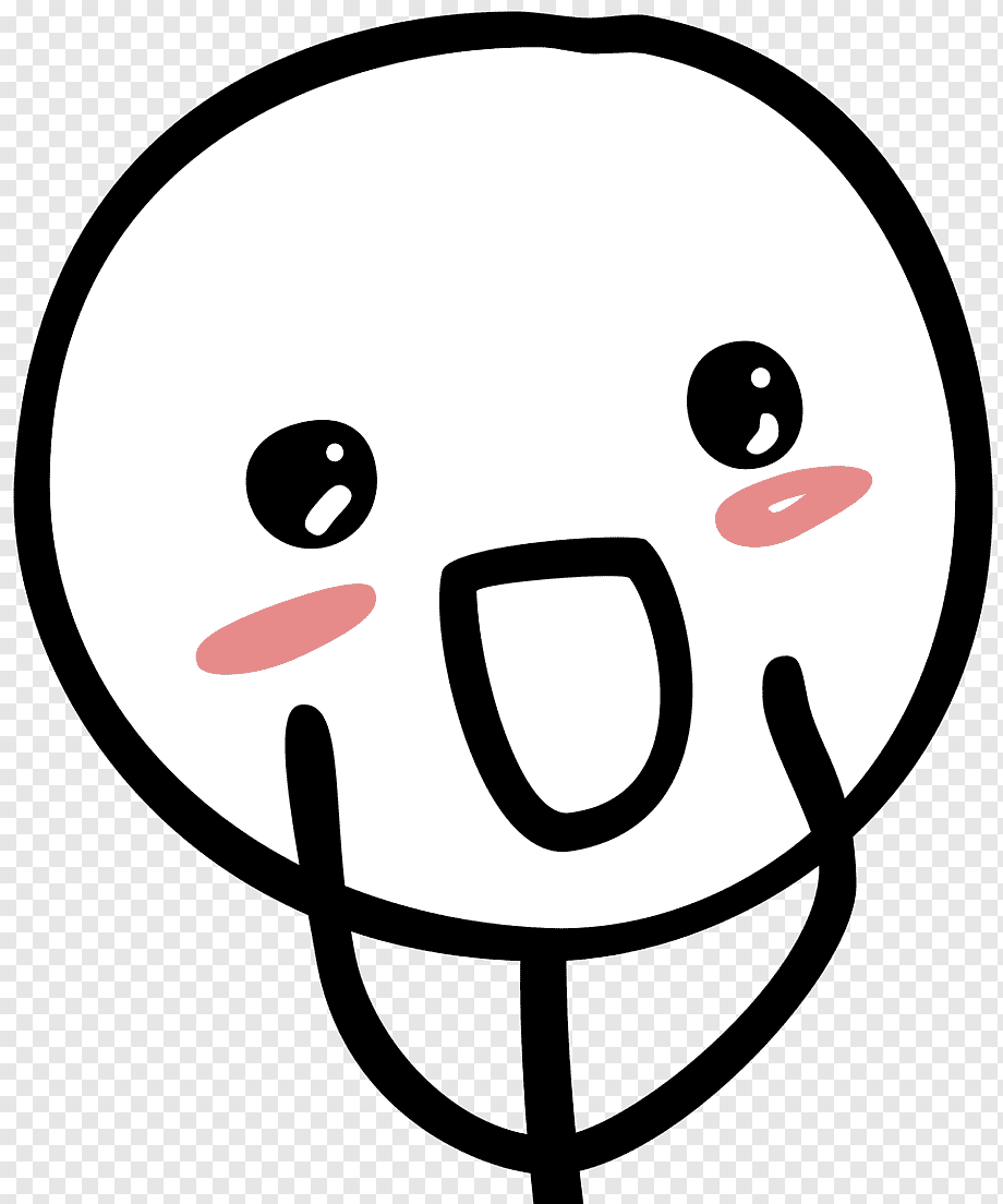 Smiling Face Meme : smiling, Stick, Figure, Drawing, Happiness, Meme,, Face,, Smiley,, Sticker, PNGWing