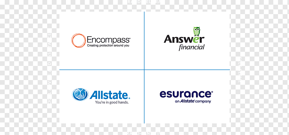 Allstate Esurance Home Insurance Asuransi Kendaraan Lainnya Teks Lain Lain Logo Png Pngwing