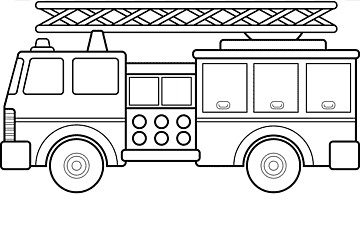 Car Fire Engine Coloring Book Firefighter Truck Cartoon Tow Truck S Compact Car Angle Child Png Pngwing