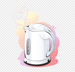 Kettle Cartoon Electricity Electric heating Kettle child electric Kettle small Appliance png PNGWing