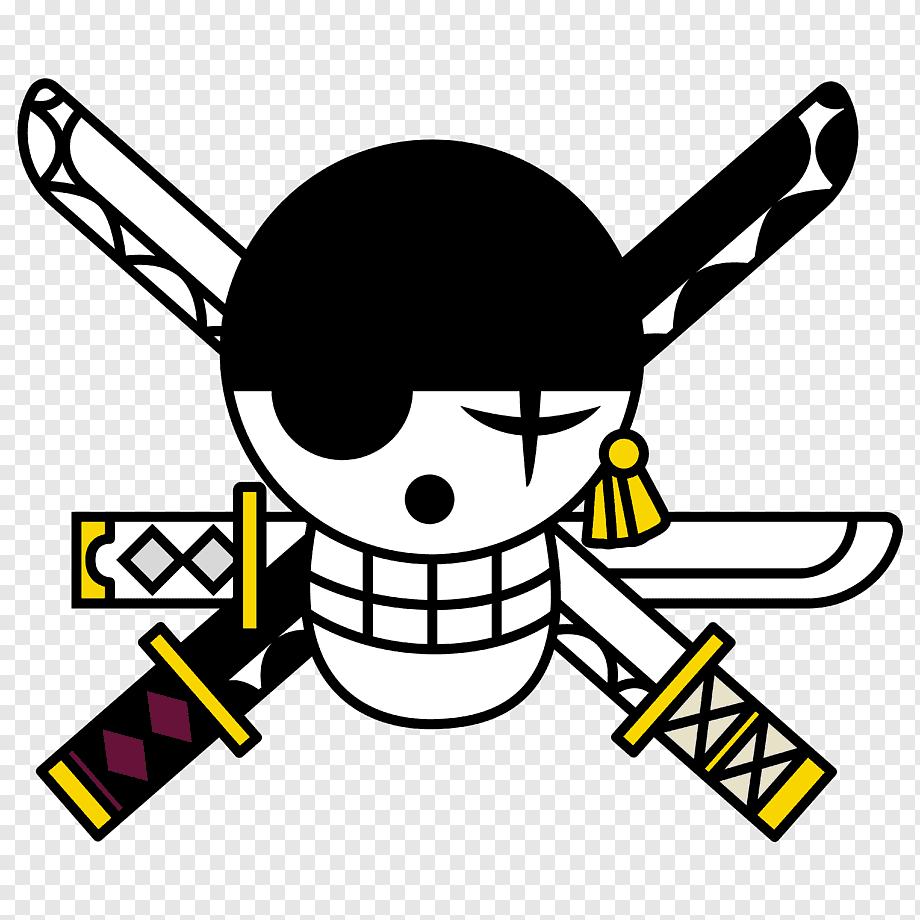 Pla giftmart anime one piece monkey d luffy with pirate flag action figure (multicolor). Boy Illustration One Piece Pirate Warriors Roronoa Zoro Monkey D Luffy Portgas D Ace Buggy One Flag Text Logo Png Pngwing