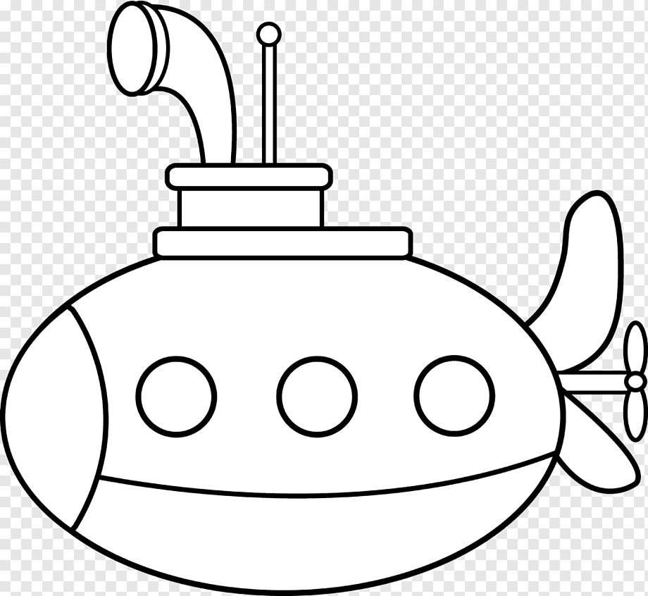 Coloring Book Submarine Drawing Kids Drawing Miscellaneous Angle White Png Pngwing