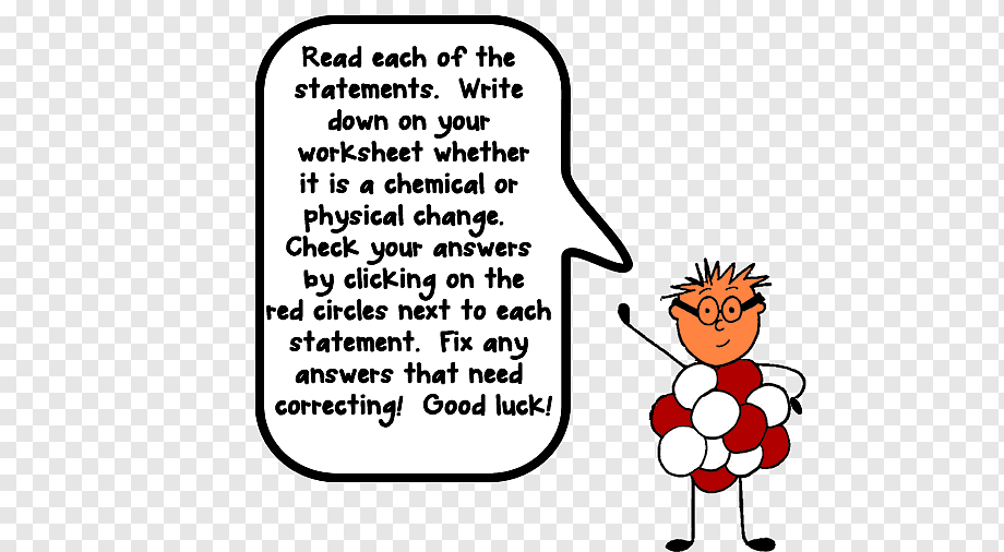Cartoon Chemistry Worksheet Answers