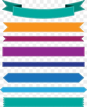 Banner Pita Png : banner, Spanduk, Warna-warni,, Berwarna-warni,, Spanduk,, PNGWing