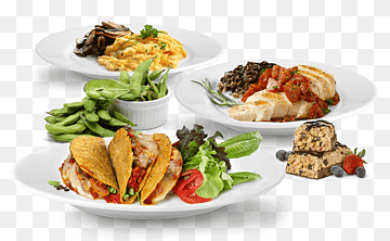 Fast food restaurant Fast food restaurant Plate Fruit Plate food recipe cuisine png PNGWing