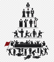 Black pyramid human form illustration Social class Society Ruling class Class conflict Clase baja Industrial Worker text people logo png PNGWing