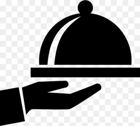 Computer Icons Symbol Food Tray symbol food hand silhouette png PNGWing