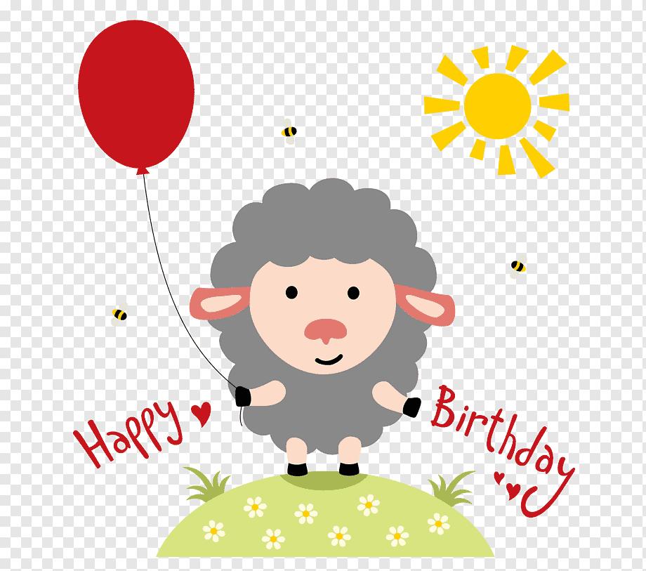 Tanda Selamat Ulang Tahun Kue Ulang Tahun Kartu Ucapan Kartun