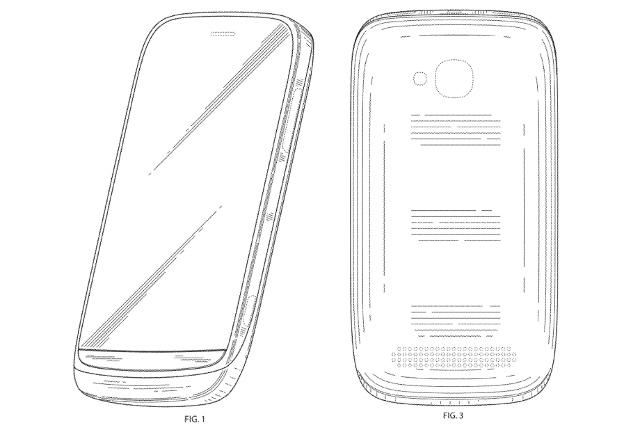 Новый патент Nokia демонстрирует дизайн телефона Lumia