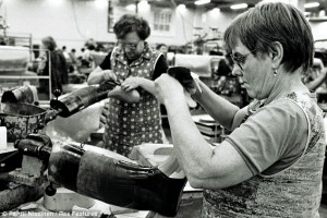 1981 год, Nokia производит резиновые сапоги