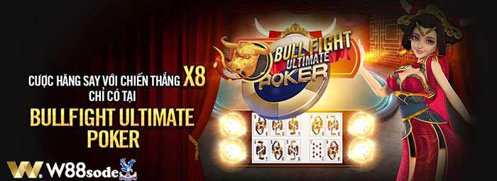Bullfight Ultimate Poker w88