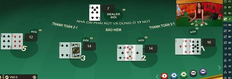 Cách chơi bài Blackjack tại W88 3