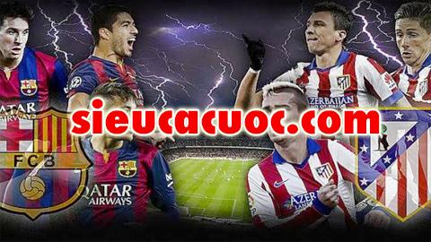 Soi kèo Barcelona vs Atletico Madrid lúc 22h15 ngày 04/03 vòng 27 La Liga