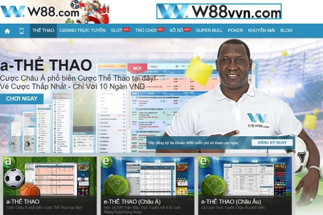 W88 - W88VN - CA CUOC THE THAO