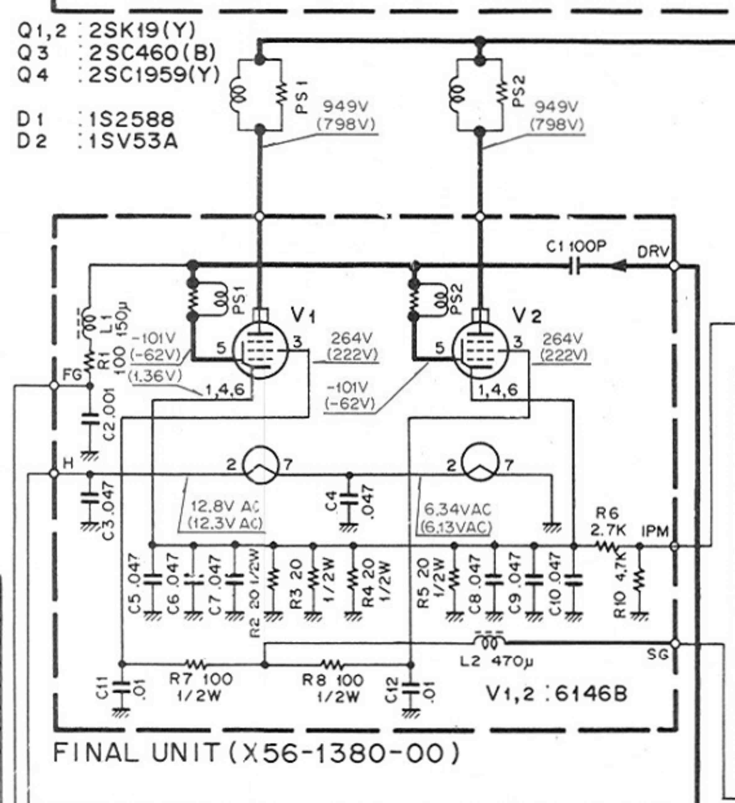 Cathode Grid Fuse Resistors