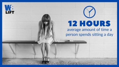 The Average Person Sits 12hrs A Day