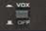 Photo of VOX control on a transciever