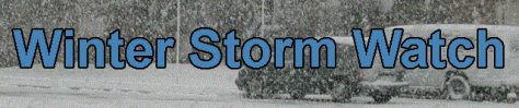 Winter storm watch banner graphic