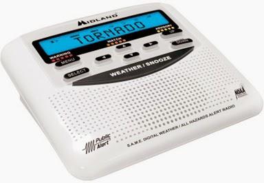 Photo of weather radio