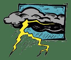 Thunderstorm clip art