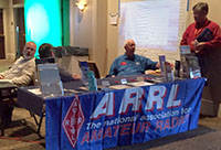ARRL booth at 2016 Nashville Severe Weather Awareness Day