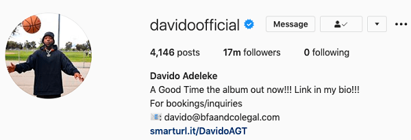 Davido unfollows Chioma on Instagram amid breakup rumours - see full details