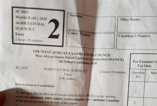 Lady claims 'leaked' WASSCE answers were shared on Nigerian WhatsApp groups