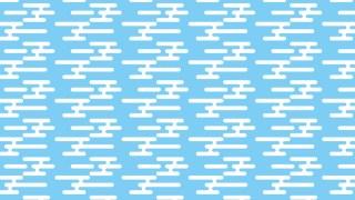 早春の青空の包装紙