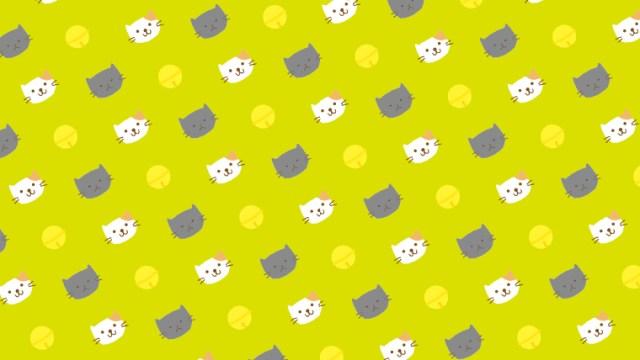猫ちゃんがいっぱい!包装紙