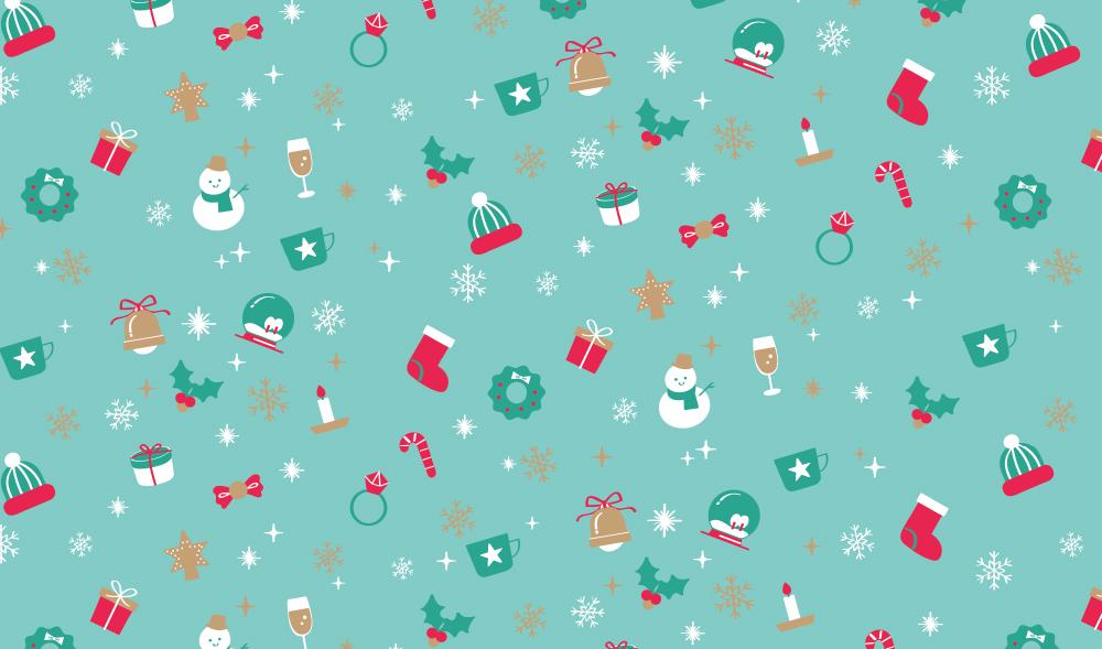 キラキラクリスマスのし紙