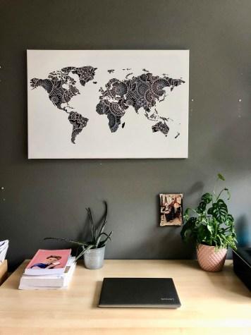 Wereldkaarten.nl Asian - Waar is Aimy
